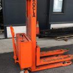 Electrische stapelaar heft 1000kg / Maximale hoogte 2.75m | Tweedehands
